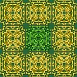Teste padrão oriental abstrato Imagens de Stock