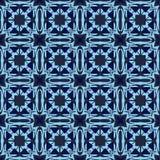 Teste padrão oriental abstrato Fotografia de Stock Royalty Free