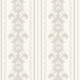 Teste padrão oriental com damasco, arabesque e elementos florais abstraia o fundo ilustração stock
