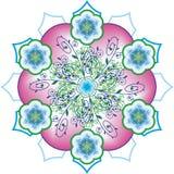Teste padrão oriental da roseta Fotos de Stock Royalty Free