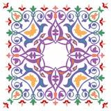Teste padrão oriental do ornamento Foto de Stock