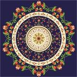 Teste padrão oriental e ornamento Fotografia de Stock Royalty Free