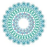 Teste padrão oriental e ornamento 07 Imagem de Stock