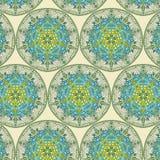 Teste padrão oriental, ilustração Islã, motivos turcos indianos árabes imagem de stock