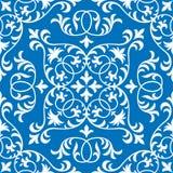 Teste padrão oriental ornamentado sem emenda da telha do vetor Foto de Stock Royalty Free