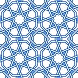 Teste padrão oriental Tangled Imagem de Stock