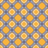 Teste padrão oriental Tangled Fotografia de Stock Royalty Free