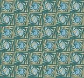 Teste padrão original sem emenda de paisley ilustração royalty free