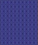 Teste padrão ornamentado azul Imagens de Stock Royalty Free