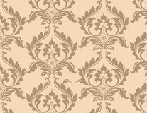 Teste padrão ornamented floral clássico Ilustração Stock