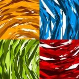 Teste padrão ou textura abstrata áspera, suja com compositio aleatório ilustração stock