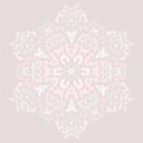 Teste padrão pálido arredondado Imagens de Stock Royalty Free