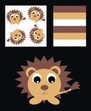 Teste padrão para a roupa das crianças Fotografia de Stock Royalty Free
