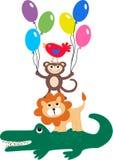 Teste padrão para a roupa das crianças ilustração royalty free