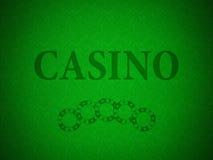 Teste padrão para um casino Foto de Stock Royalty Free