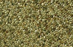 Teste padrão pequeno das pedras da cor amarela Fotografia de Stock Royalty Free