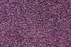 Teste padrão pequeno das pedras da cor roxa Imagens de Stock Royalty Free