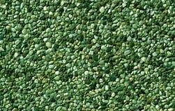 Teste padrão pequeno das pedras da cor verde Imagens de Stock Royalty Free