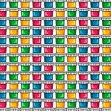 Teste padrão Pinturas para tirar Um grupo de pinturas coloridas em um fundo branco Fotografia de Stock Royalty Free