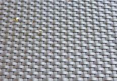 Teste padrão plástico da tela de weave Imagens de Stock Royalty Free