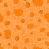 Teste padrão poligonal do dia da ação de graças em cores alaranjadas Fotografia de Stock Royalty Free