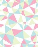 Teste padrão poligonal sem emenda Fotografia de Stock