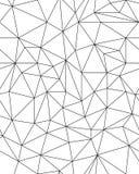 Teste padrão poligonal sem emenda Fotos de Stock Royalty Free