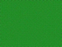 Teste padrão pontilhado do verde Imagens de Stock