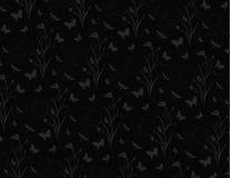 Teste padrão preto Imagem de Stock Royalty Free