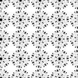 Teste padrão preto ilustração stock
