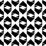Teste padrão preto da seta Foto de Stock Royalty Free