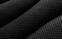 Teste padrão preto da tela Fotografia de Stock