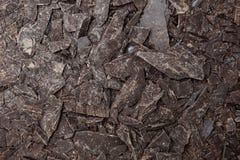 Teste padrão preto do chocolate Imagens de Stock
