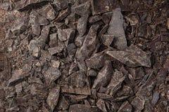 Teste padrão preto do chocolate Imagens de Stock Royalty Free