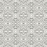 Teste padrão preto e branco Imagem de Stock