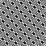 Teste padrão preto e branco Fotos de Stock Royalty Free