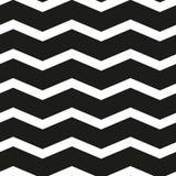Teste padrão preto e branco da viga sem emenda Imagens de Stock