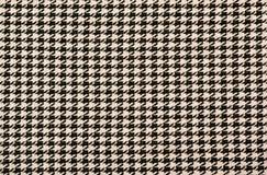 Teste padrão preto e cor-de-rosa do houndstooth imagens de stock royalty free