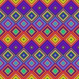 Teste padrão psicadélico colorido Ilustração do Vetor