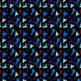 Teste padrão psicadélico do sumário abstrato colorido do fundo Ilustração Stock
