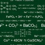 Teste padrão químico sem emenda ilustração stock