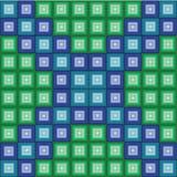 Teste padrão quadrado Imagens de Stock Royalty Free