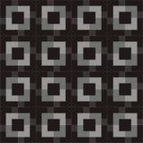 Teste padrão quadrado Foto de Stock