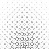 Teste padrão quadrado angular preto e branco abstrato ilustração do vetor