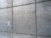 Teste padrão quadrado sujo Grey Sidewalk Fotos de Stock
