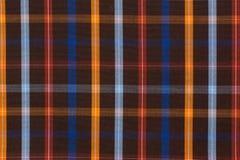 Teste padrão quadriculado da camisa clássica Foto de Stock Royalty Free