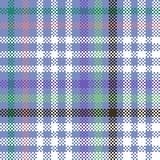 Teste padrão quadriculado digitalmente rendido geométrico abstrato ilustração do vetor
