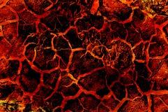 Teste padrão quente do sumário do fogo da lava da arte Imagens de Stock Royalty Free