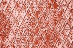 Teste padrão rústico do metal Foto de Stock