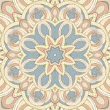 Teste padrão redondo decorativo Fotografia de Stock Royalty Free